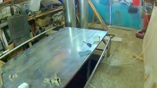 видео ремонт ворот на полуприцепах
