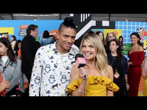 Brandon Broady and Stevie Nelson Talk Upcoming Season of Nickelodeon's CRASHLETES | 2018 KCAs
