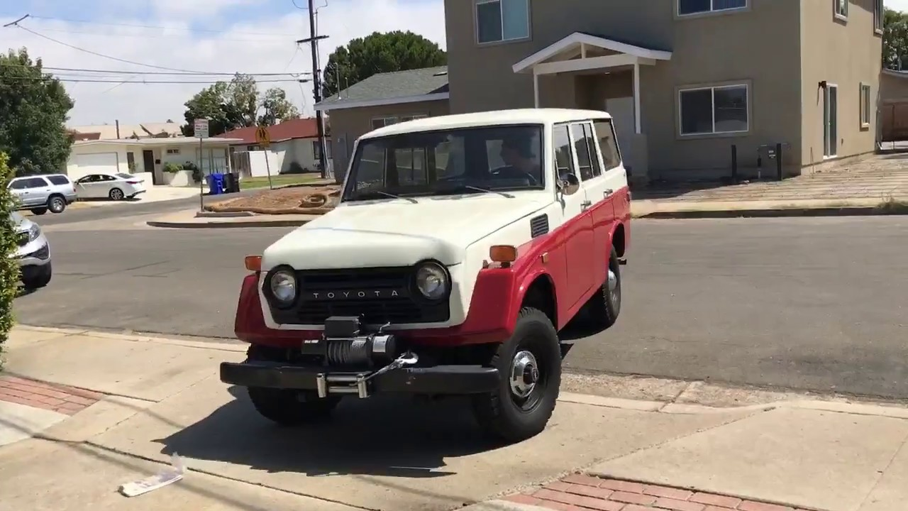 1973 Toyota Fj55 Land Cruiser For Sale Sold Youtube Interior