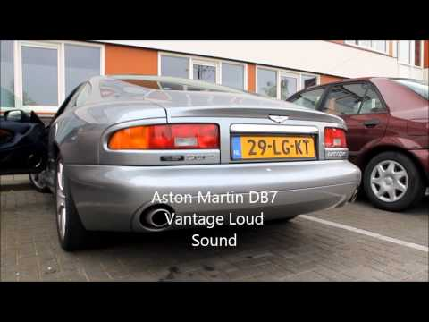 Aston Martin DB7 Vantage Loud Sound