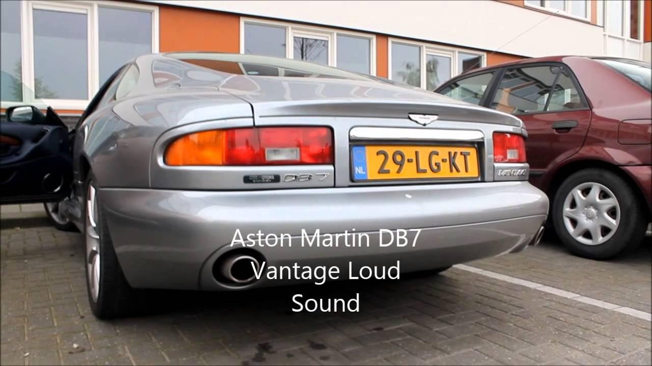 aston martin db7 vantage loud sound - youtube