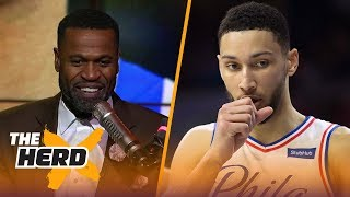 Stephen Jackson on the 76ers' 16-game win streak, LeBron playing 82 games | THE HERD