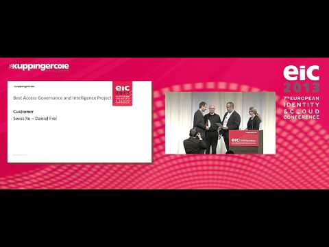 European Identity & Cloud Awards 2013: Swiss Reinsurance Com