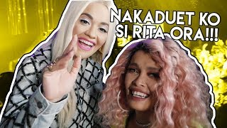NAKADUET KO SI RITA ORA!!! - ASAP VLOG   Behind the Scenes with KZ Tandingan