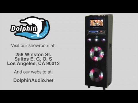 Dolphin SP-150BT Karaoke Party Speaker with Bluetooth