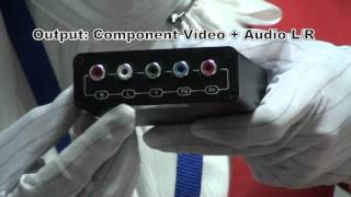 HDMI to Component Video Converter