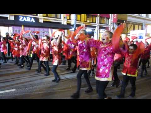 San Francisco Chinese New Year Parade 2017 Chinese Immersion School at DeAvila