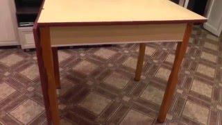 Реставрируем кухонный стол(Немного освежаем старую мебель своими руками., 2015-12-28T16:13:57.000Z)