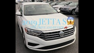 2019 VOLKSWAGEN JETTA S TEST DRIVE AND REVIEW!!