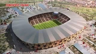 Модели стадионов чемпионата мира по футболу Марокко 2026