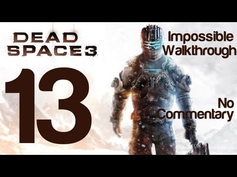 Dead Space 3 Gameplay Walkthrough Part 13 Optional Supply Depot Impossible Difficulty