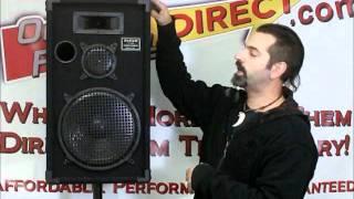Pro Audio DJ Speakers by Podium Pro Audio 1200c.wmv