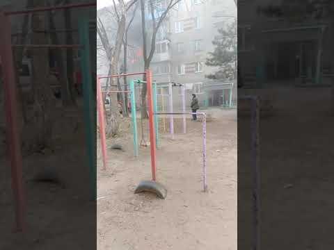 Пожар в квартире. г Партизанск