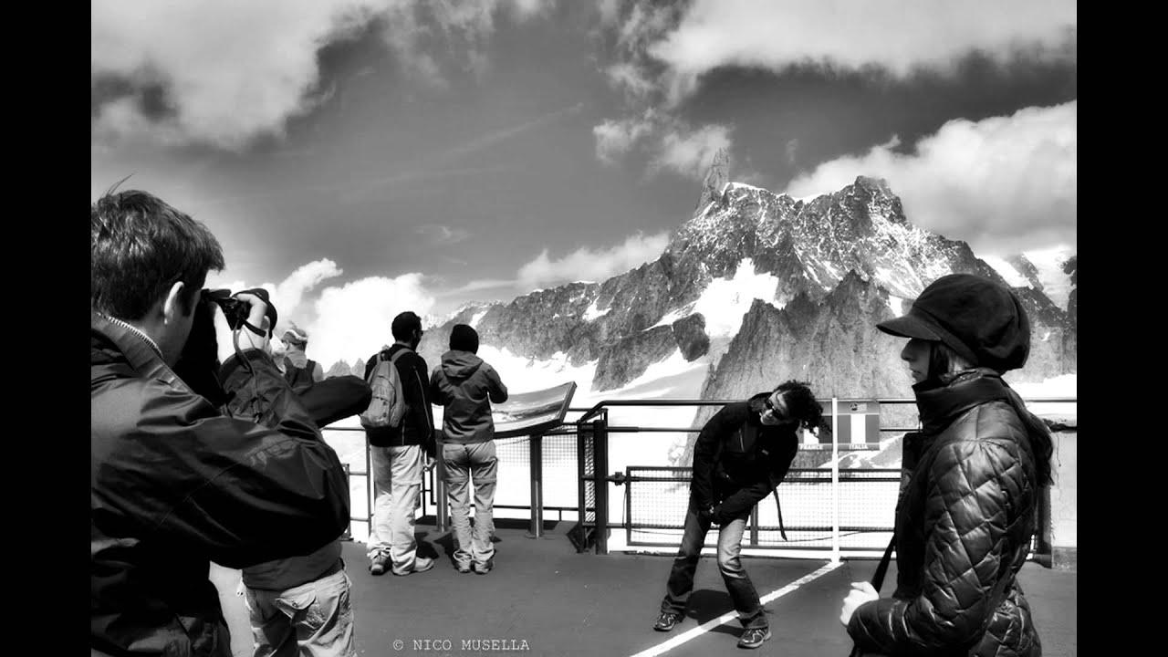 Monte Bianco In Black White La Grande Musica Del Sud Youtube