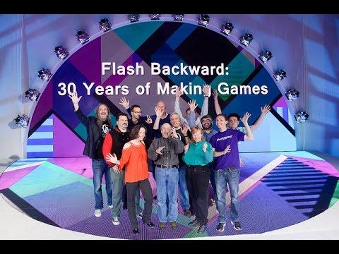 GDC 2016 Flash Backward: 30 Years of Making Games