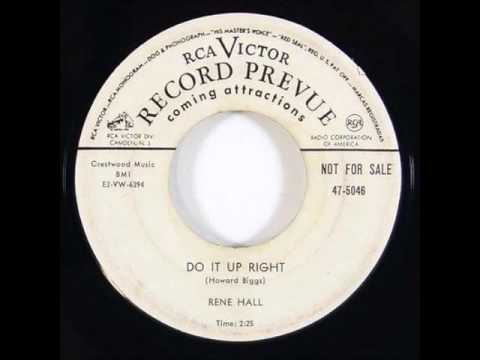 Rene Hall - Do It Up Right 1952