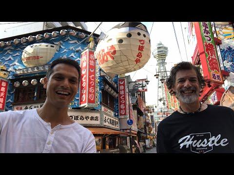 Osaka's Retro Town w/ Takoyaki