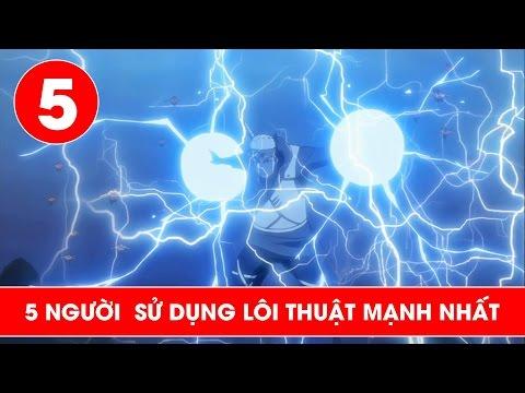 Top 5 người sử dụng lôi độn mạnh nhất trong Naruto - Shounen Action