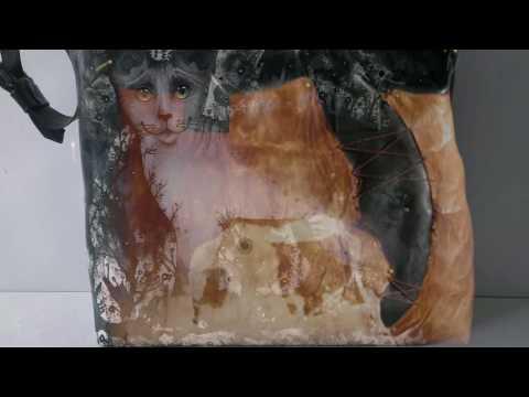 Ирина Демина - HAND MADE ART BAGS / уникальные сумки, аксессуары, одежда, головные уборы из кожи смотреть онлайн
