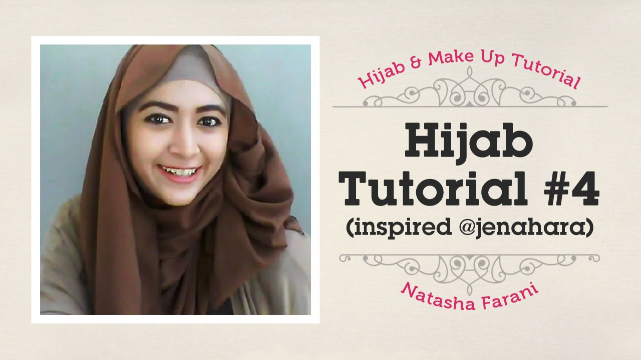 Hijab Tutorial Natasha Farani Inspired Jenahara 4 How