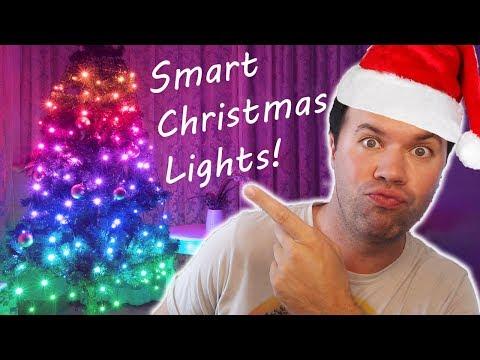 TreeHUE Review!  Smart Christmas Lights   Best Christmas Lights EVA!!