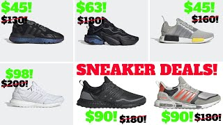 TOP SNEAKER DEALS RIGHT NOW FOR ADIDAS