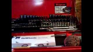 Quick Tool Box Tour Gray / Snap-on - And New Garage Tour