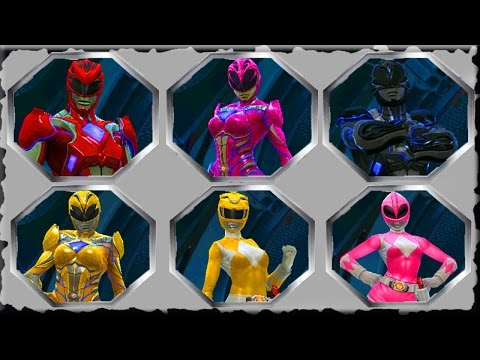 Power Rangers Legacy Wars Mobile Gameplay Android And Ios