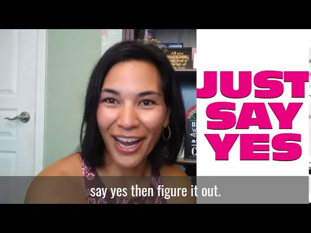Rule of Life Lesson #119: Say YES and figure it out.
