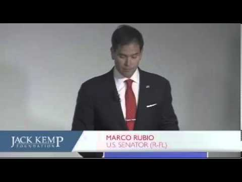 Rubio Proposes New Economic Growth Agenda