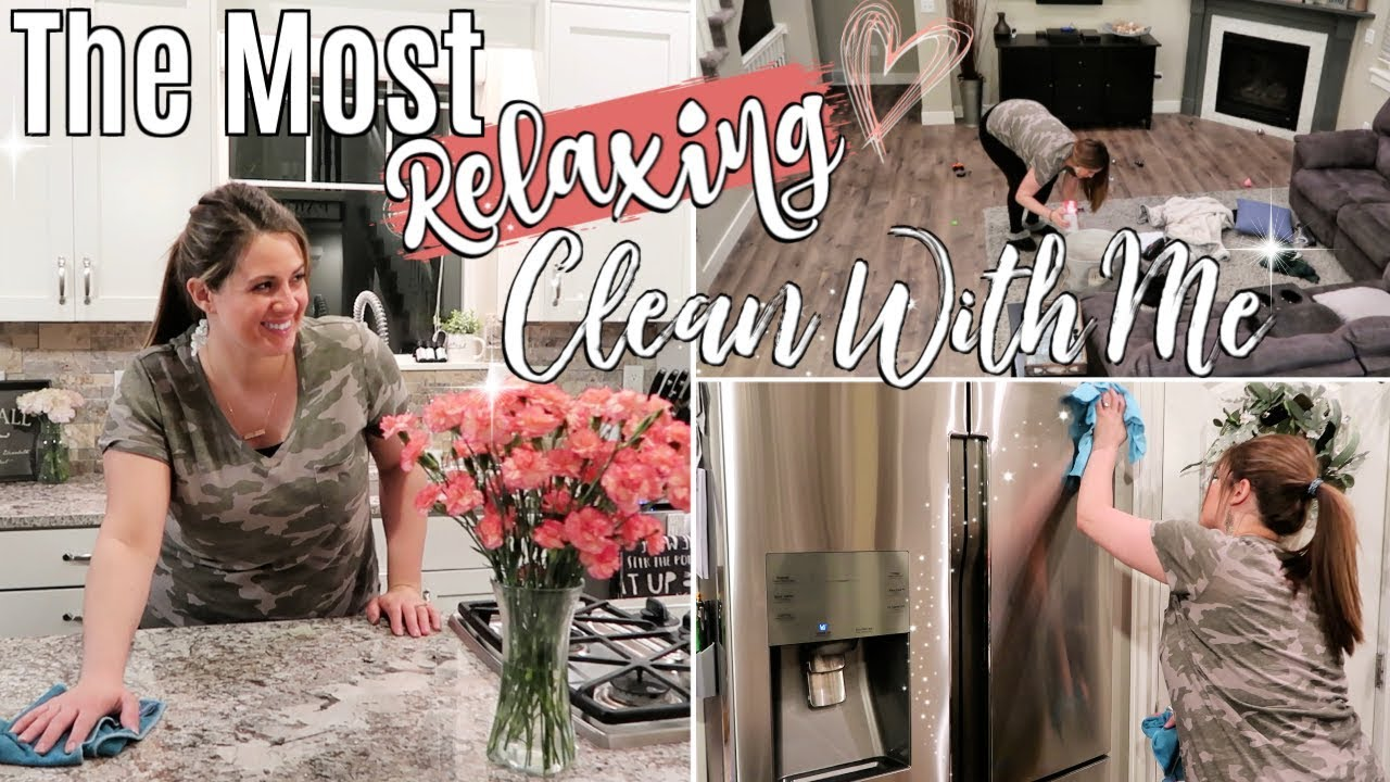 After Dark Clean With Me 2019 Relaxing Speed Cleaning Motivation Sahm Cleaning Routine