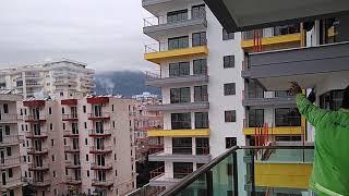 Квартира в Турции с видом на море, Privat Wohnung in Alanya