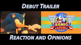 Sonic Mania / Project Sonic 2017 Debut Trailers - Reaction and Opinions