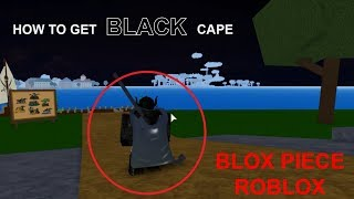 How to get Black Cape - Blox Piece ROBLOX