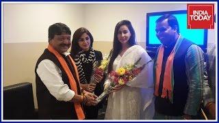 Actors Rimi Sen, Kashish Khan Join BJP