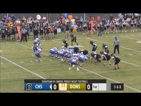 Doniphan vs Cabool Football