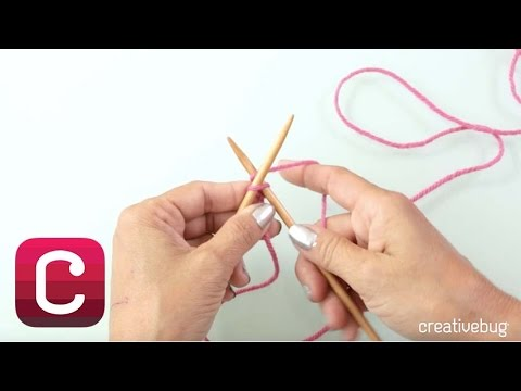Knitted Cast On with Debbie Stoller | Creativebug