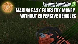 Farming Simulator 17 - Making Easy Money without Expensive Equipment
