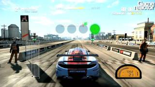 Shift 2: Speedhunters - Drag racing gameplay