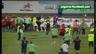 Libye - Algérie ( 0 - 1 ) But de Hilal Soudani + Bagarre 2017 Video