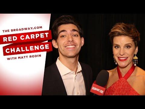 COME FROM AWAY Opening Night Red Carpet Challenge - Matt Rodin