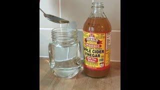 How To Use Apple Cider Vinegar Honey To Cure Asthma Breathing Problem, Bronchitis & Chest Congestion