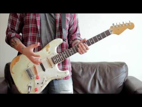 How to play Give It Away by the Red Hot Chili Peppers / Guitar Lesson - Tutorial