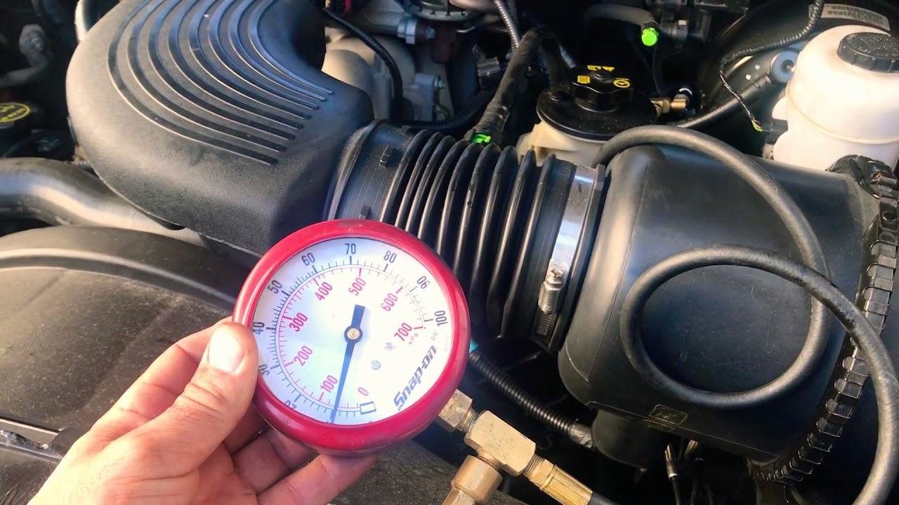 94 f150 fuel pressure specs