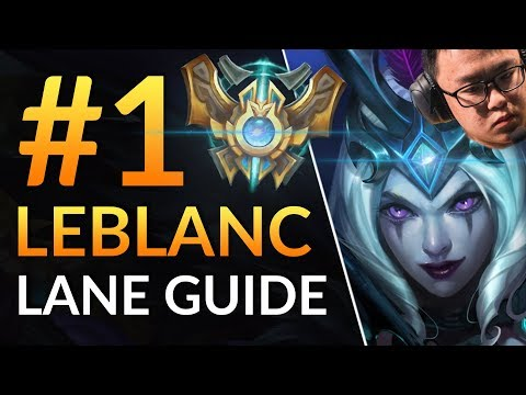 BEST LEBLANC in the World vs Rank 1 AHRI - Challenger Pro Tips | LoL Guide