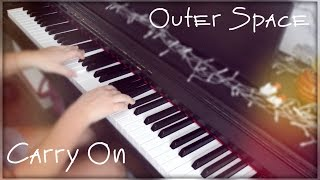 5 Seconds of Summer - Outer Space / Carry On (piano cover by swaggyglice)