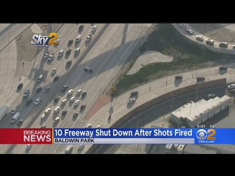 10 Freeway Closed During Shooting Investigation – Los Angeles Alerts