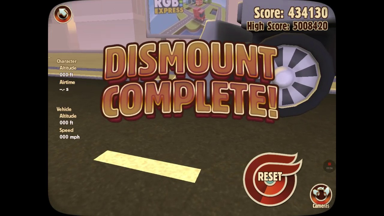 The Definition Of Pain!  Turbo Dismount #2