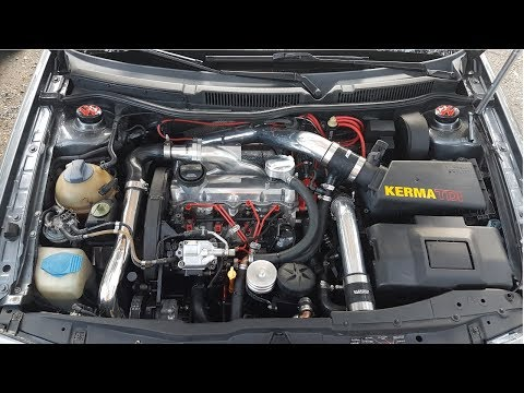 MK4 TDI Dyno 341ft-lbs Malone Tuning