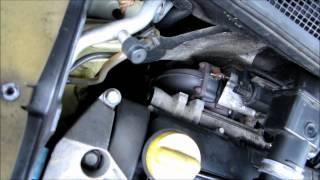nettoyage vanne EGR moteur Renault 1.5 DCI (method to clean EGR valve) partie 1 sur 3